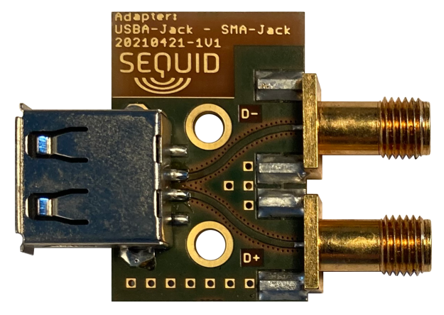 SMA to USB 1.0/2.0 (type-A jack)
